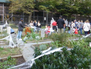 the haunted community garden