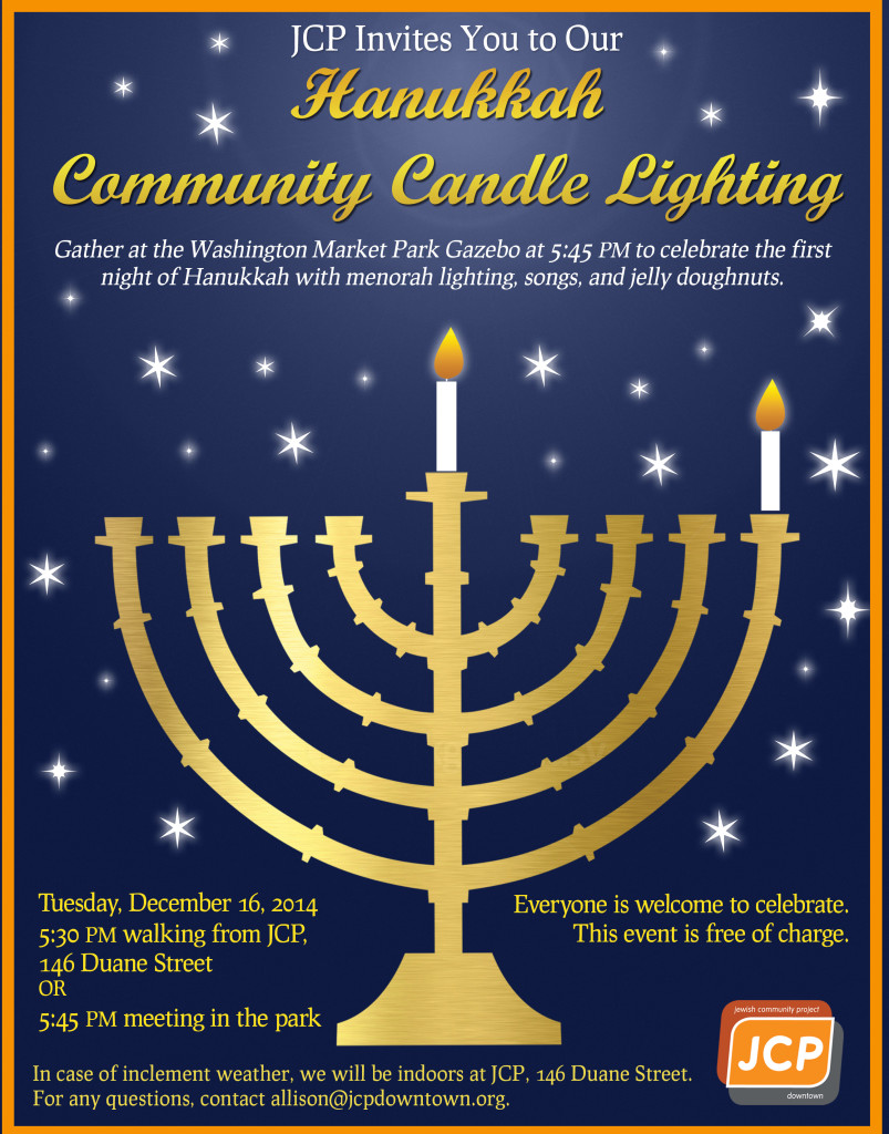 Hanukkah Community Candle Lighting