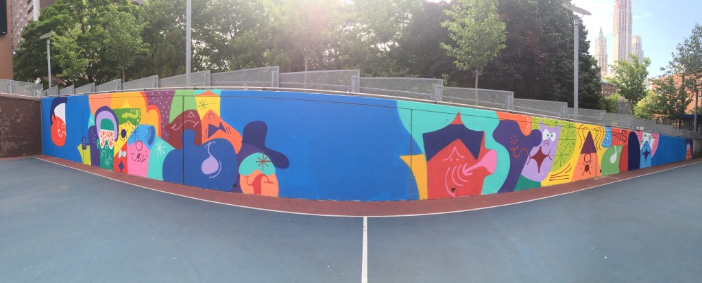 The Court Mural 1