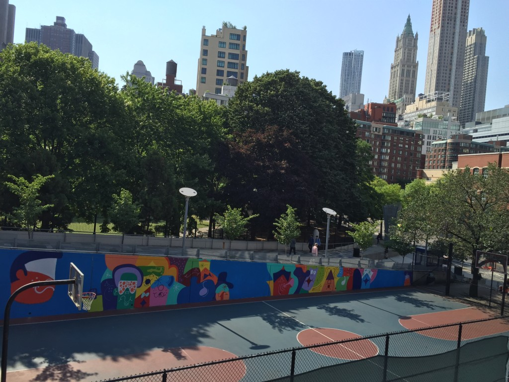 The Court Mural